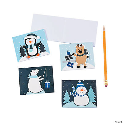 Winter Mini Notebooks