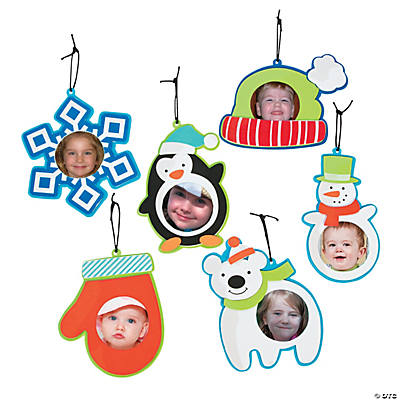 Winter Picture Frame Christmas Ornament Craft Kit