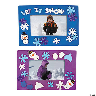 Winter Picture Frame Craft Kit