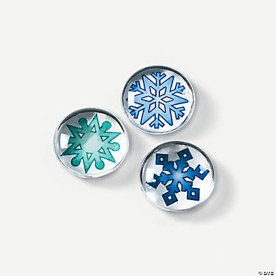 Winter Snowflake Bubble Magnet Craft Kit