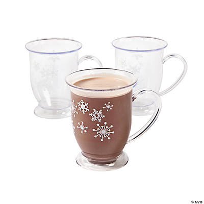 Winter Snowflake Mugs