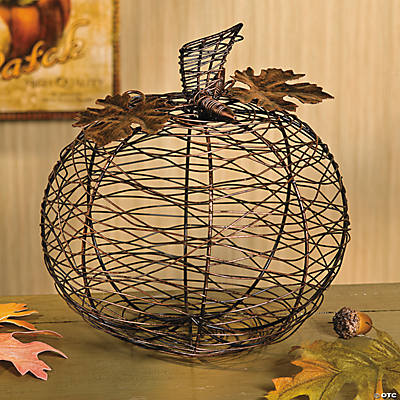 Wire Pumpkin