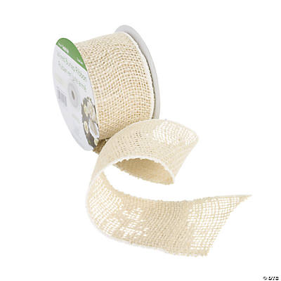 Wired Cream Ribbon