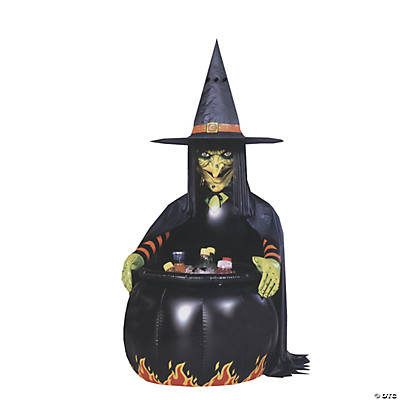 Witch Cauldron Inflatable Cooler