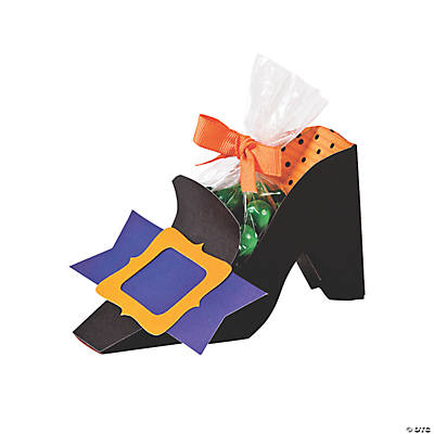 Witch Shoe Treat Holder Craft Kit