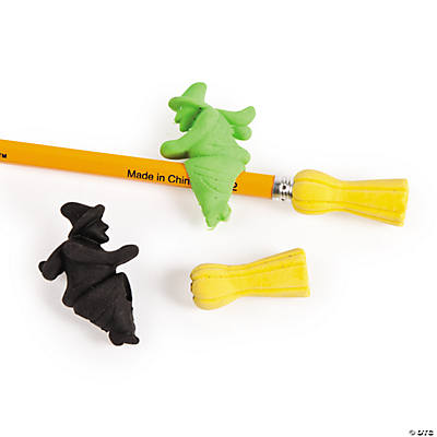 Witches & Brooms Eraser Sliders