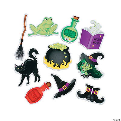 Witches Brew Self-Adhesive Shapes