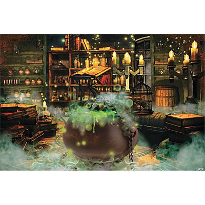 Witches' Kitchen Backdrop Banner
