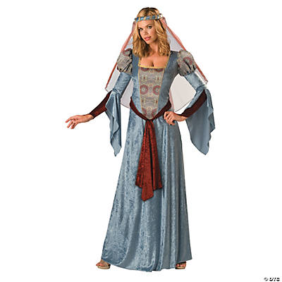 Women's Blue Robin Hood Maid Marian Costume