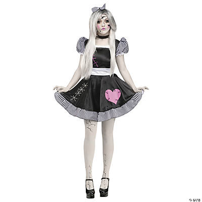 Women's Broken Doll Costume