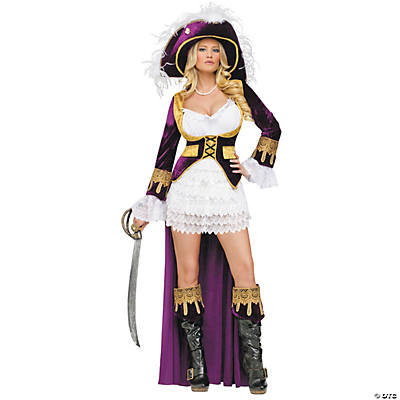 Women's Caribbean Queen Costume