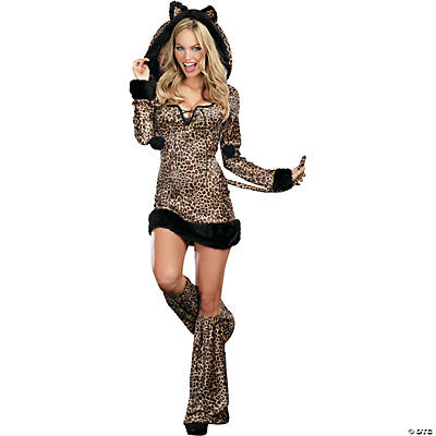 Women's Cheetah Luscious Costume