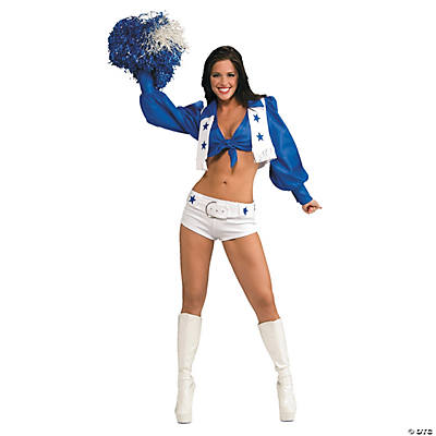 Women's Deluxe NFL<sup>®</sup> Dallas Cowboys<sup>®</sup> Cheerleader Costume
