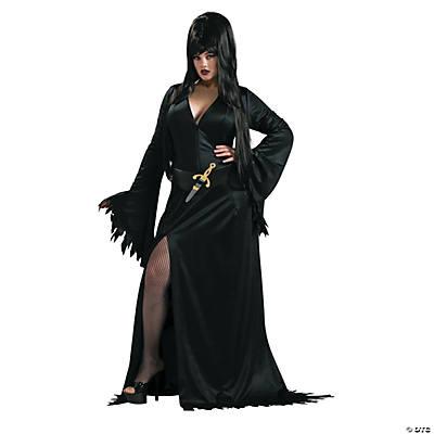 Womenu0027s Plus Size Elvira Costume  sc 1 st  Oriental Trading & Adult Plus Size Costumes 2018 | Oriental Trading Company