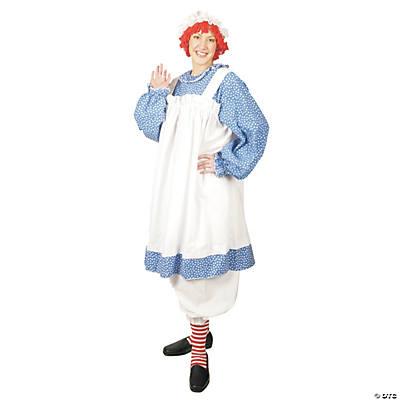 womenu0027s plus size raggedy ann costume