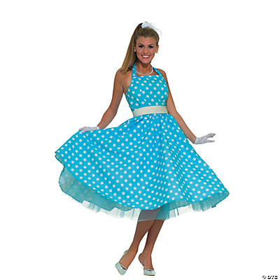 Women's Summer Daze 50s Dress Costume