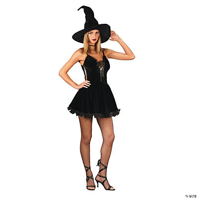 Women's Sexy Witch Costume - Medium/Large
