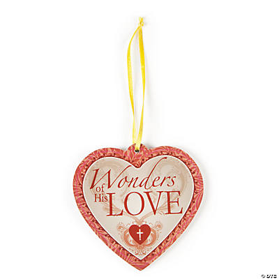 """Wonders of His Love"" Ornaments"