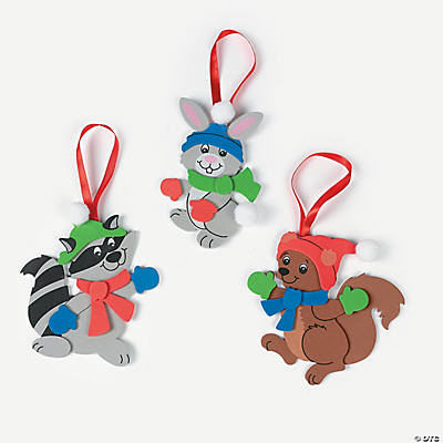 Woodland Character Ornament Craft Kit