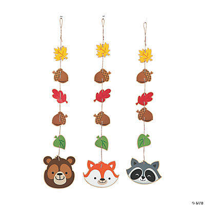 Woodland Party Hanging Decorations