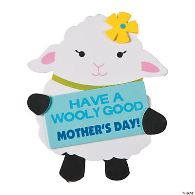 Wooly good mother 39 s day magnet craft kit for Mother s day craft kits