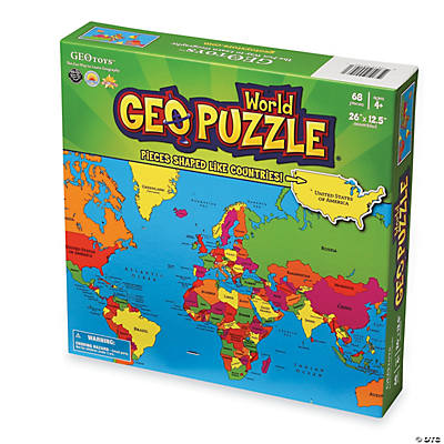World Geo Puzzle Oriental Trading Discontinued