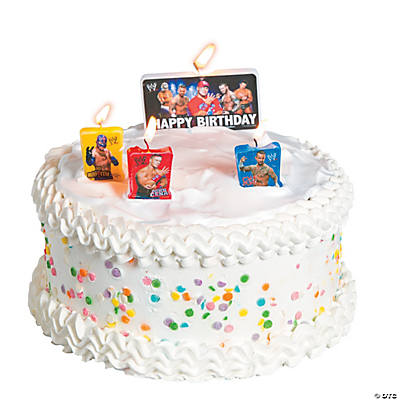 WWE™ Birthday Candles