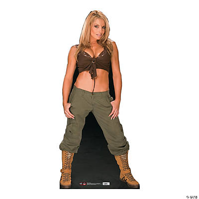 WWE Trish Stratus Cardboard Stand-Up