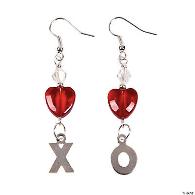 X's & O's Earrings Craft Kit