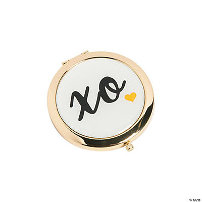 XO Gold Mirror Compacts