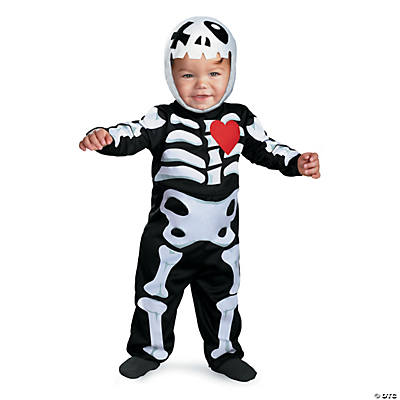 XO Skeleton Kid's Costume