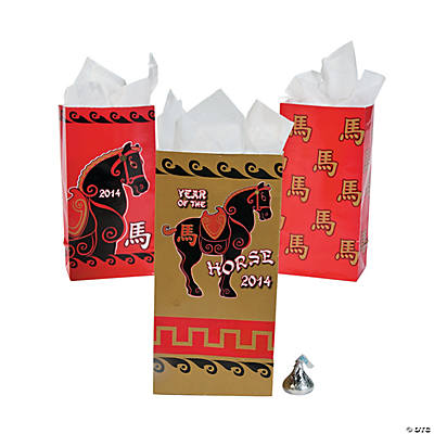 Year of the Horse Treat Bags