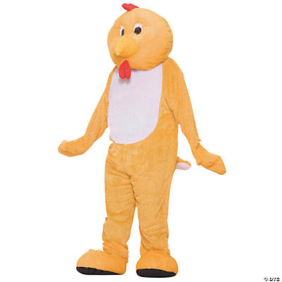 Yellow Chicken Mascot Costume