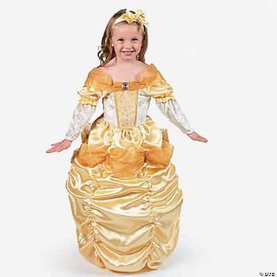 Yellow Princess Girl's Toddler Costume