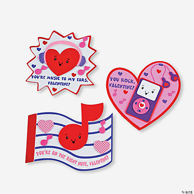 """You Rock Valentine"" Magnet Craft Kit"