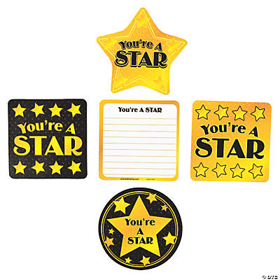 You're A Star Reward Cards