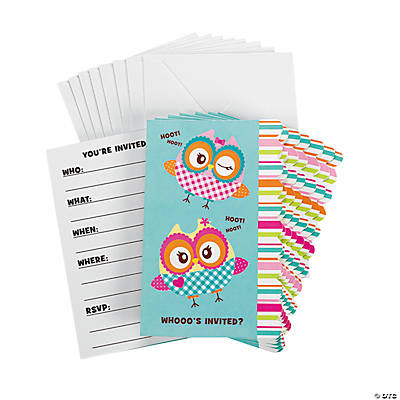 You're A Hoot Invitations