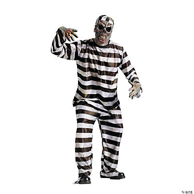Zombie Convict Adult Costume
