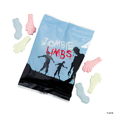 Zombie Limbs Candy Fun Packs