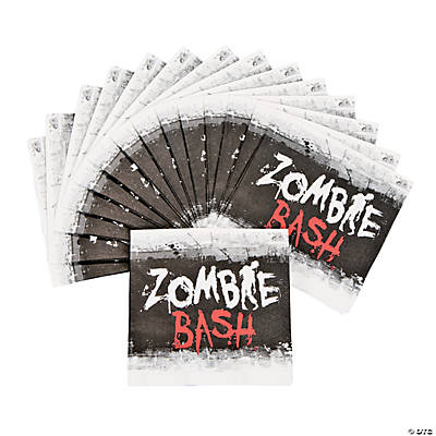Zombie Party Beverage Napkins