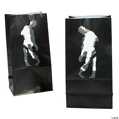 Zombie Party Luminary Bags