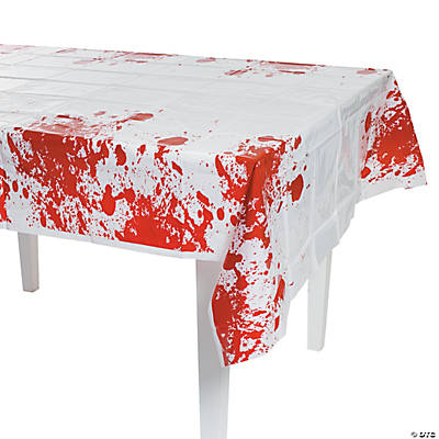 Zombie party plastic tablecloth oriental trading for Table zombies