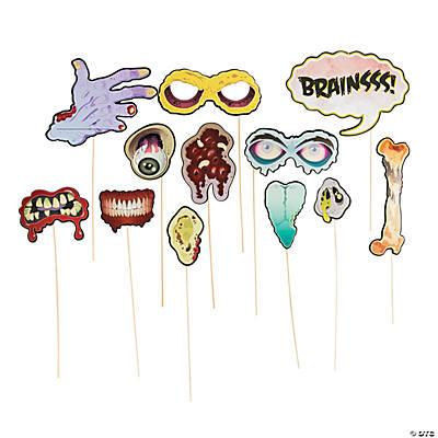 zombie photo stick props - Zombie Props