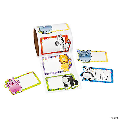 Zoo Animal Name Tags/Labels