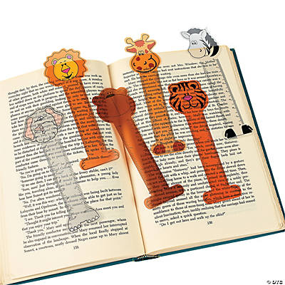 Zoo Animal Ruler Bookmarks