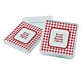 personalized-red-gingham-square-favor-containers