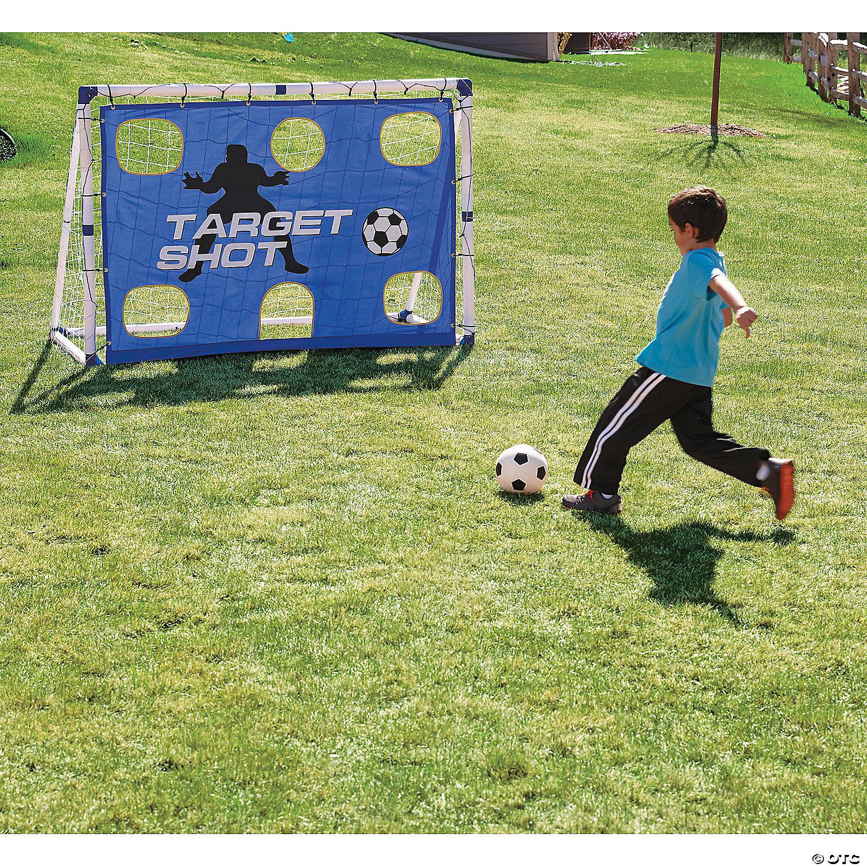 3 in 1 soccer goal trainer set