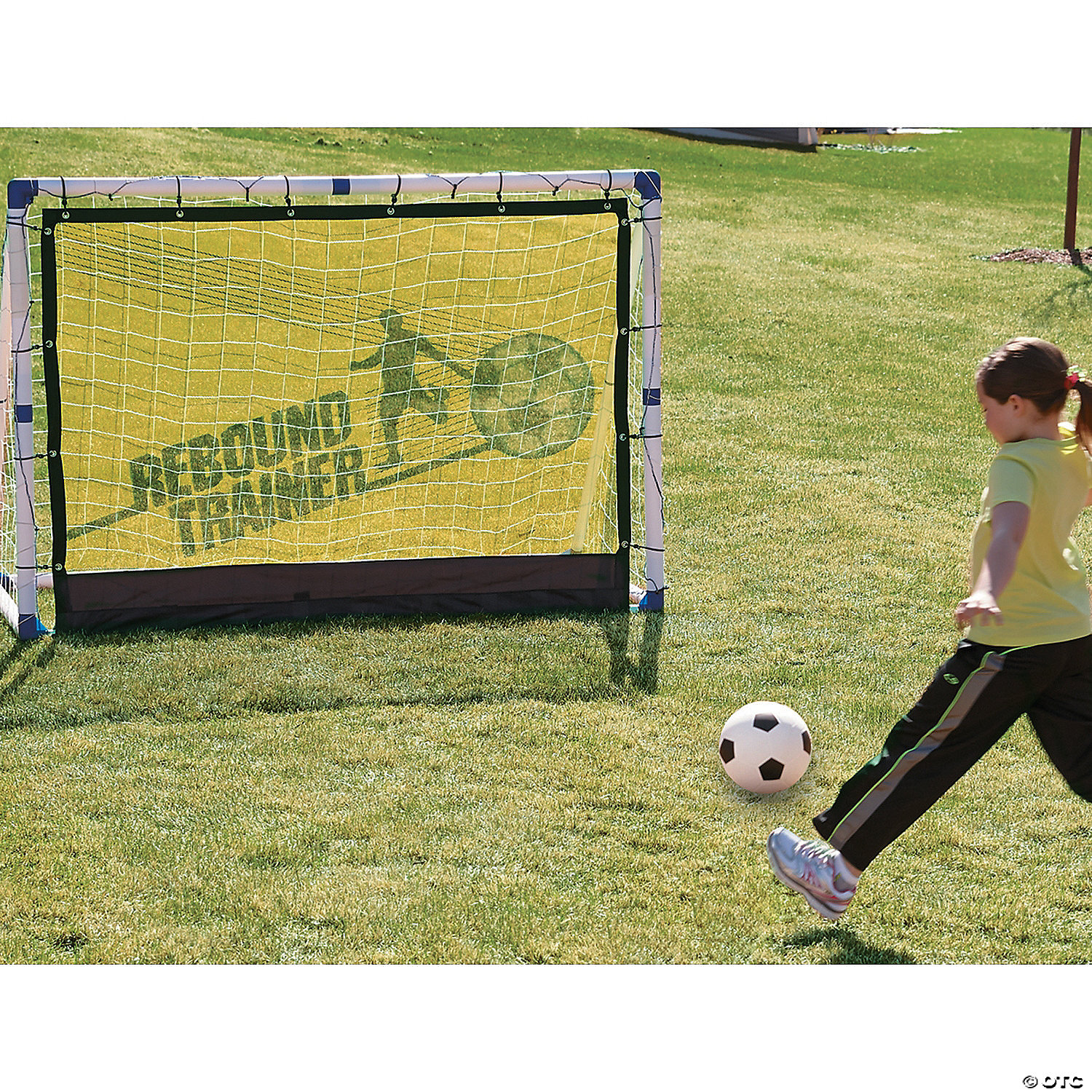 3 in 1 soccer goal trainer set