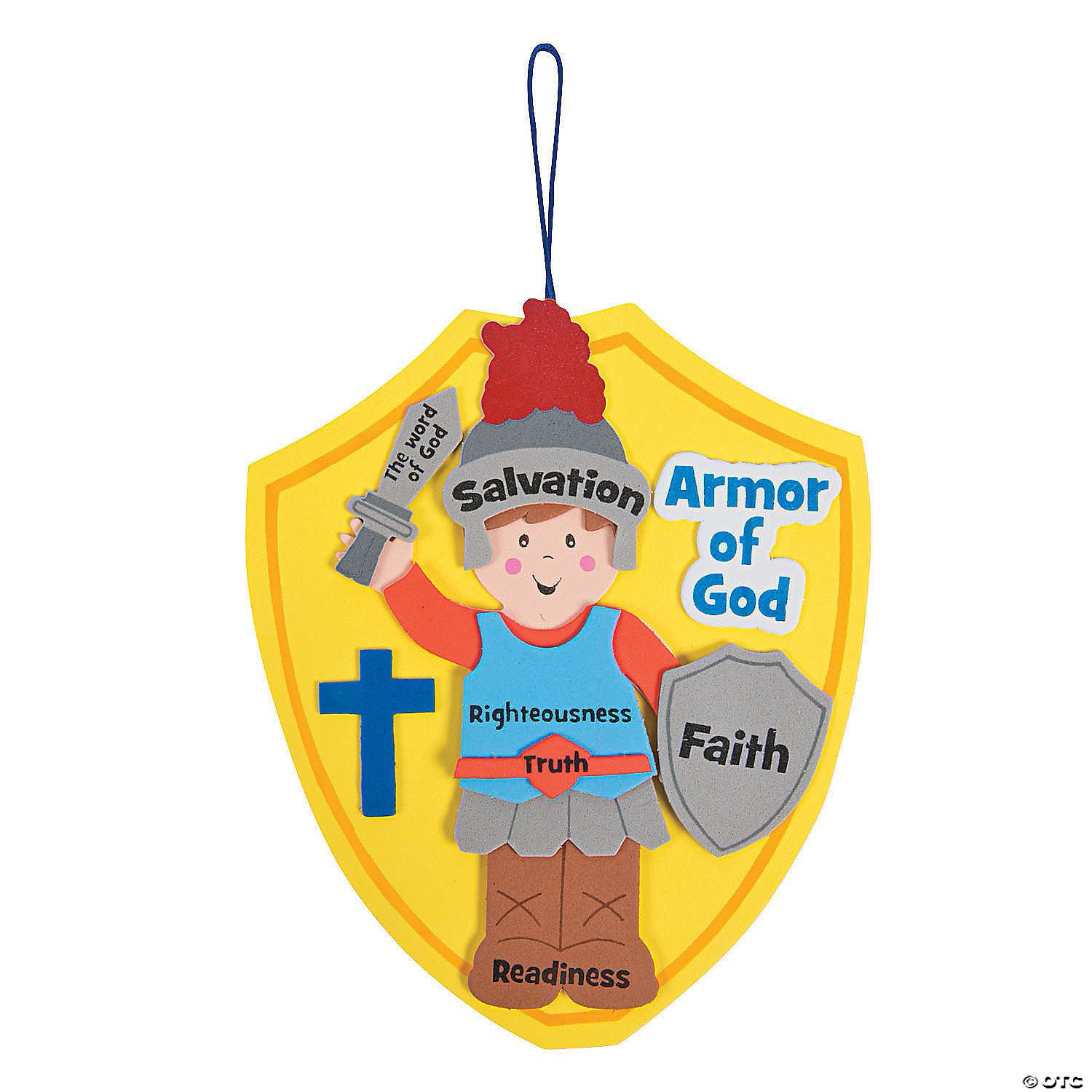 armor of god u201d craft kit