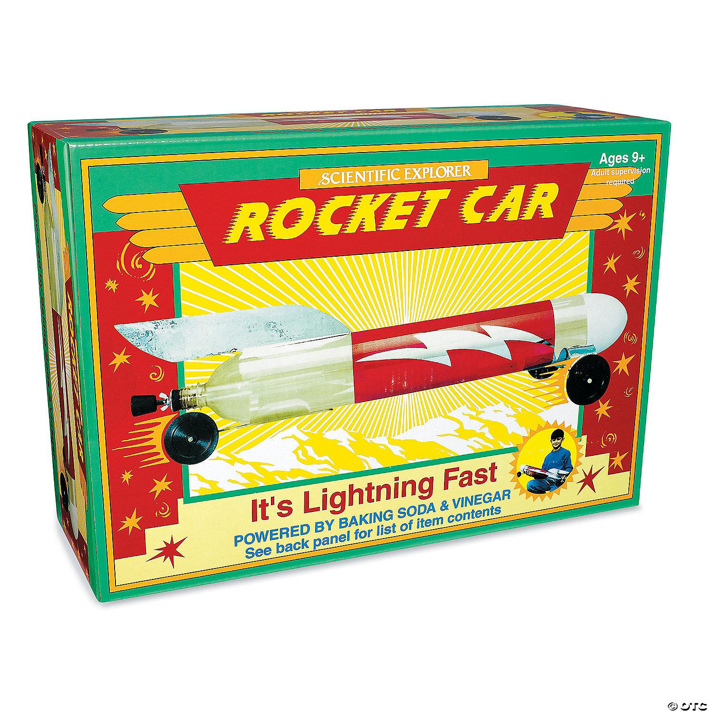 Baking Soda Vinegar Rocket Car
